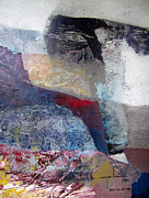 Cosmic Space Paintings - OS1959AR018BA Abstract Landscape of Potosi Bolivia 16.6 x 22 by Alfredo Da Silva