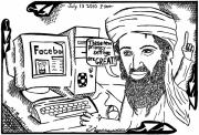 Osama Originals - Osaman Bin Laden on Facebook by Yonatan Frimer by Yonatan Frimer Maze Artist