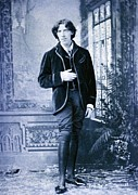 1880s Photos - Oscar Wilde, 1854-1900 Irish Literary by Everett