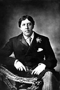 Author Metal Prints - Oscar Wilde, Undated Metal Print by Everett