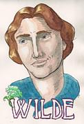 Oscar Wilde Print by Whitney Morton