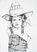Ranch Drawings - Osh Kosh by Mayhem Mediums