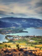 Okanagan Framed Prints - Osoyoos Lake 2 Framed Print by Tara Turner