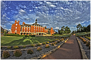 Student Union Metal Prints - OSU Student Union Metal Print by Salah Hamim