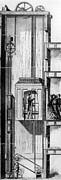 Otis Elevator, 1880 Print by Granger