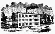 1870 Art - Otis Elevator Factory by Granger