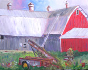Philadelphia Scene Paintings - Otter Creek Winery by Robert P Hedden