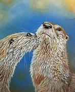 Otters Originals - Otter Love by Ceci Watson