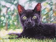 Kitten Pastels - Otto As A Kitten by Mike Paget