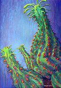 Botanical Pastels Originals - Ouch by Tanja Ware