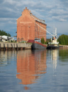 Towboat Framed Prints - Oulu from the Sea 3 Framed Print by Jouko Lehto
