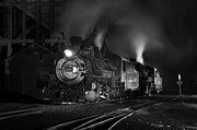 Steam And More Photography Framed Prints - Our Best Side Black and White Framed Print by Ken Smith