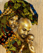 African-american Mixed Media - Our Children by Gary Williams