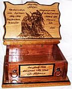 Bible Sculptures - Our Family Bible Box Opened by Marla Gebhardt
