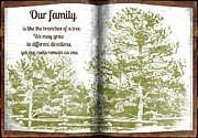 Our Family Roots Print by Michelle Frizzell-Thompson