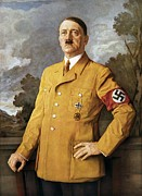 History Framed Prints - Our Fuhrer, A Portrait Of Adolf Hitler Framed Print by Everett