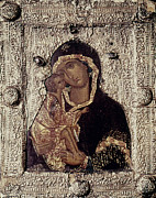 Russian Icon Photos - Our Lady Of Don by Granger