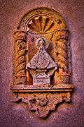 Relief Sculpture Acrylic Prints - Our Lady of Good Success at the Chapel in Tlaquepaque Acrylic Print by David Patterson