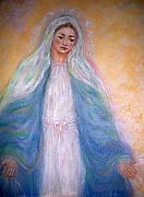 The Universe Pastels - Our Lady of Graces by Suzanne Reynolds