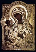 Russian Icon Photos - Our Lady Of Yevsemanisk by Granger