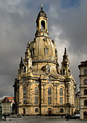 Church Prints - Our Ladys Church of Dresden Print by Christine Till