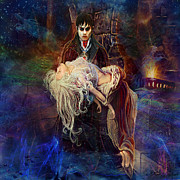 Dracula Paintings - Our Love Is Forever by Steve Roberts