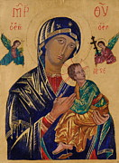 Religion Prints - Our Mother of Perpetual Help Print by Camelia Apostol