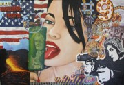 Lick Paintings - Our New World Order by Randy Segura