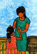 African American Paintings - Our Time by Angela L Walker