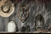 Still Life Photo Prints - Out in the Barn III Print by Tom Mc Nemar