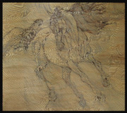 Realistic Art Pyrography - Out of Line Horse by Dino Muradian