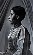 African-american Reliefs - Out of the Box Woman in Shirtdress by Joyce Owens