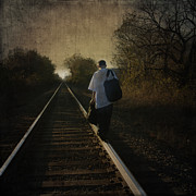 Rail Digital Art - Out of the Darkness by Betty LaRue