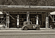 Esso Photos - Out of the Past sepia by Steve Harrington