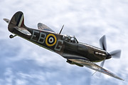 Spitfire Photos - Out of the Sun by Tim Croton
