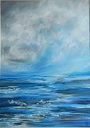 Waters Pastels - Out to Sea  by Ruth Scott