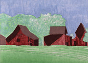 Historic Site Paintings - Outbuildings at Windsor Castle by Robert Boyette