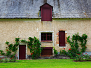 Outbuildings Of Chateau Cheverny Print by Louise Heusinkveld
