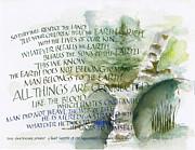 Outdoor Spirit Print by Judy Dodds