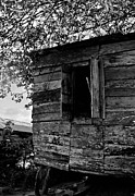 Old House Photographs Posters - Outhouse Kitchen Poster by Bill Mortley