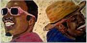 Rap Music Painting Originals - OutKast by J Von Ryan