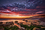 Sea Shore Digital Art - Outrageous Sky by Mark Leader