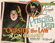 1920 Movies Art - Outside The Law, From Left Priscilla by Everett