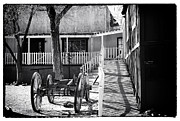 Outside Pictures Framed Prints - Outside the Saloon Framed Print by John Rizzuto