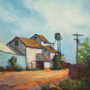 Streetscape Painting Originals - Outsourced by Athena  Mantle