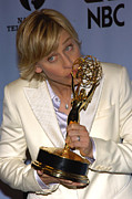 Ellen Degeneres Framed Prints - Outstanding Talk Show Host Winner Ellen Framed Print by Everett
