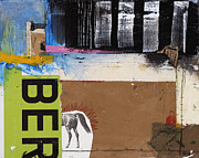 Mixed Media Collage Posters - Over Before It Began Poster by Michel  Keck