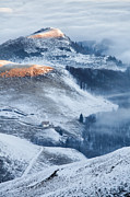Balkan Mountains Art - Over the Frosty Mist by Evgeni Dinev