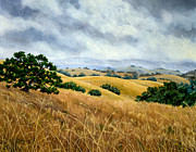 Zenbreeze Paintings - Overcast June Morning by Laura Iverson