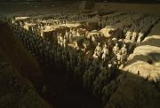 Warriors Photos - Overhead View Of The Terra-cotta by O. Louis Mazzatenta